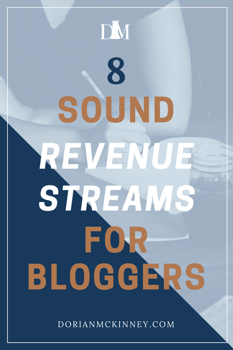 Many large businesses and entrepreneurs create blogs to build a dependable revenue stream. Here are 8 solid income streams that will make you a full-time income with just your blog.